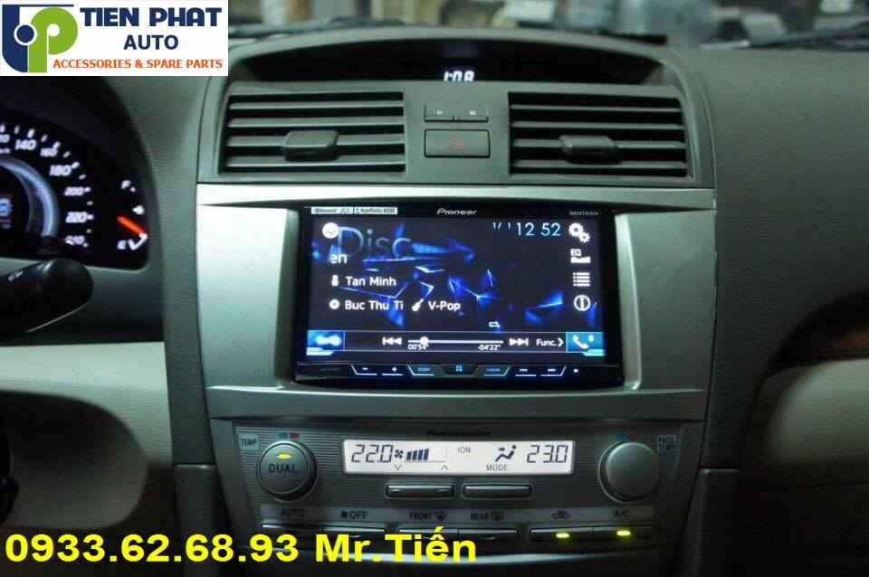 Lắp Đặt Màn Hình DVD Cao Cấp Cho Toyota Camry Đời 2008 Tại Tp.Hcm