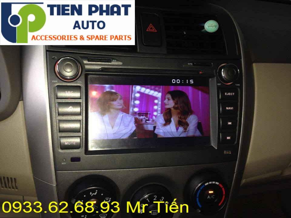 Lắp Màn Hình DVD Cao Cấp Theo Xe Toyota Altis Đời 2012-2013 Tại Tp.Hcm
