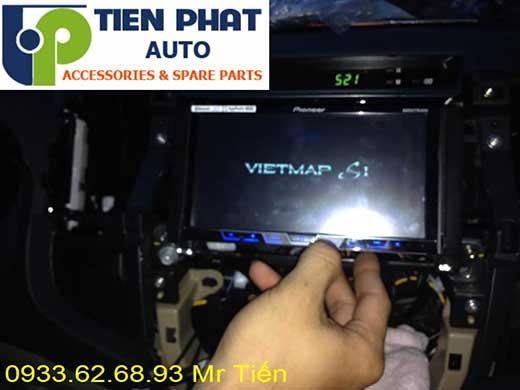 lắp màn hình dvd pioneer tích hợp bản đồ việt map zin theo xe fortuner 2016 tai tp hcm