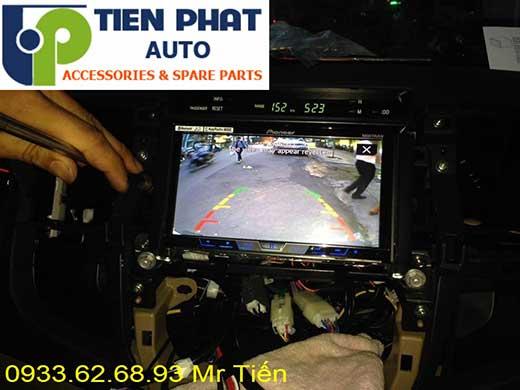 lắp màn hình dvd zin theo xe fortuner số tự động đời  2016 tại Tp Hcm