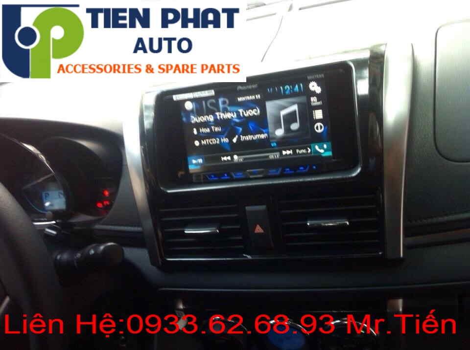 Gắn Đầu Máy DVD Cao Cấp Cho Xe Toyota Yaris 1.5G Đời 2014 Tại Tp.Hcm