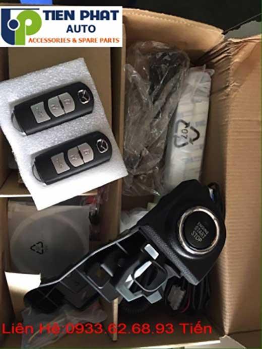 Lắp Đặt Engine Start Stop Smart Key Chìa Khóa Thông Minh zin Theo Xe Mazda 3 Đời 2011 Tại Tp.Hcm Uy Tín Nhanh