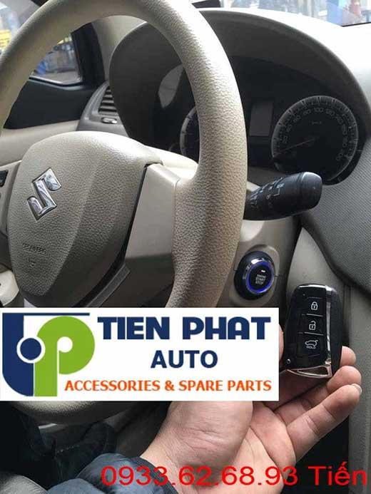 Lắp Đặt Engine Start Stop Smart Key Chìa Khóa Thông Minh zin Theo Xe Suzuki Ertiga Đời 2015-2016 Tại Tp.Hcm Uy Tín Nhanh