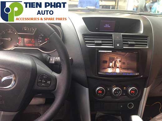 Dịch Vụ Lắp Màn Hình DVD Cho Xe Mazda BT-50 Đời 2016 Tại Củ Chi