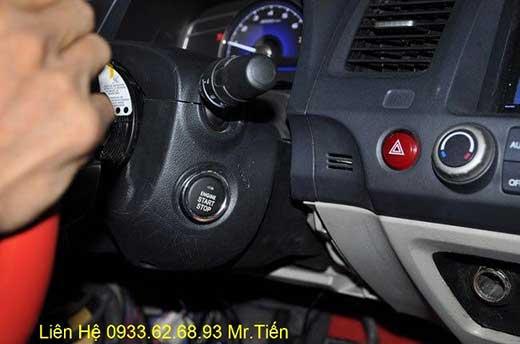 Độ Nút Engine Start Stop/Smart Key Chuyên Nghiệp Cho Honda Civic Tại Tp.Hcm