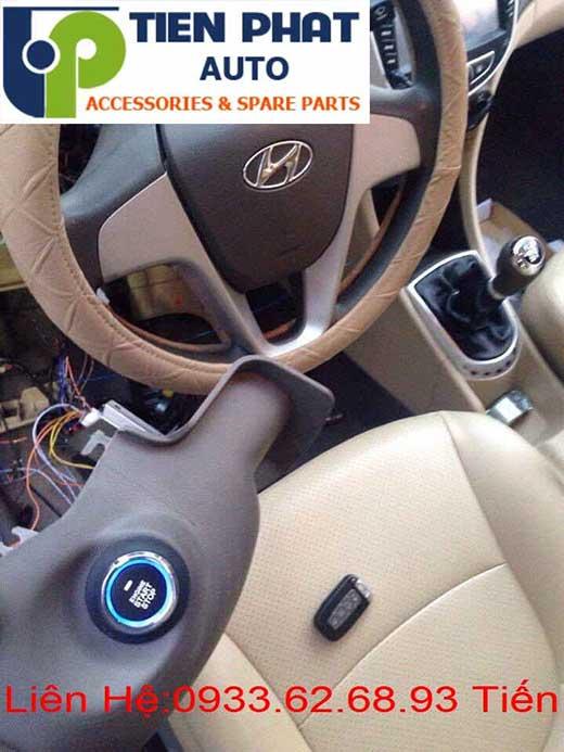Độ Nút Engine Start Stop/Smart Key Chuyên Nghiệp Cho Huyndai Accent Tại Tp.Hcm