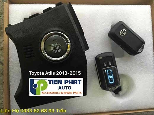 Engine Start Stop Smart Key Chìa Khóa Thông Minh Cho Toyota Altis Đời 2013 Tại Tp.Hcm