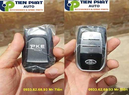 Engine Start Stop/Smart Key Chuyên Nghiệp Cho Toyota Prado Tại Tp.Hcm