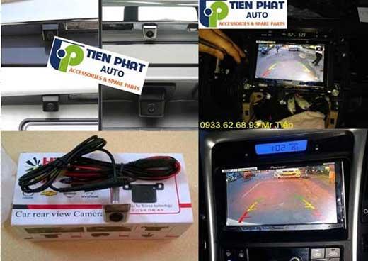Gắn Camera Lùi Chất Lượng Cao Cho xe Chevrolet-GM Spack Uy Tín Tại Quận Tân Phú
