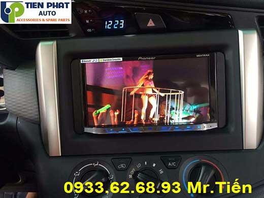 Gắn Màn Hình DVD Pioneer Cao Cấp Cho Toyota Innova 2016 Tại Tp.Hcm