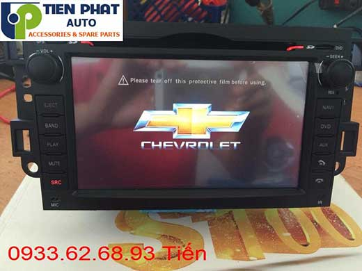 Gắn Màn Hình DVD Zin Cho Chevrolet Captiva Đời 2012 Tại Tp.Hcm