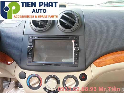 Gắn Màn Hình DVD Zin Theo Xe Cho Chevrolet Aveo Đời 2013 Tại Củ Chi
