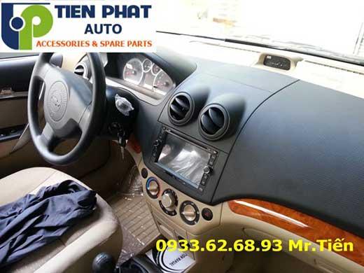 Gắn Màn Hình DVD Zin Theo Xe Cho Chevrolet Aveo Đời 2014 Tại Tp.Hcm