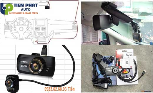 lắp Camera Hành Trình Cho Xe Chevrolet Spark