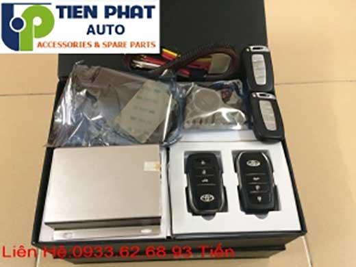 Lắp Đặt Engine Start Stop Smart Key Chìa Khóa Thông Minh zin Theo Xe Toyota Camry Đời 2010 Tại Tp.Hcm Uy Tín Nhanh