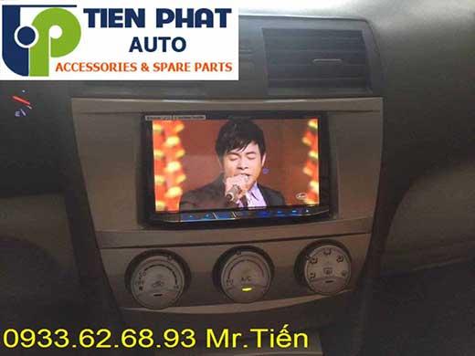 Lắp Đặt Màn Hình DVD Cao Cấp Cho Toyota Camry 2.4G 2007 Tại Hà Nội