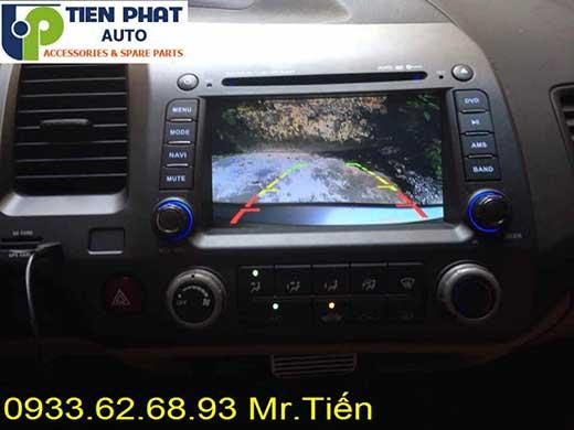 Lắp Đặt Màn Hình DVD Zin Cho Honda Civic Đời 2006-2007 Tại Tp.Hcm