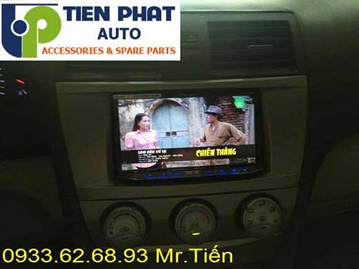 Lắp Đặt Màn Hình DVD Zin Cho Toyota Camry 2.4G Đời 2012 Tại Tp.Hcm