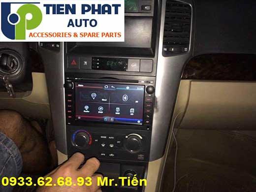 Lắp Đặt Màn Hình DVD Zin Theo Xe Cho Chevrolet Captiva 2010 Tại Tp.Hcm