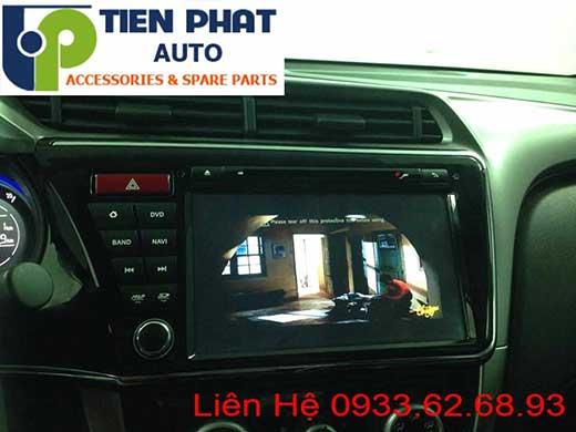 lắp Đầu Máy DVD Nguyên Khối Theo Xe Honda City 2016 Tại Tp.Hcm