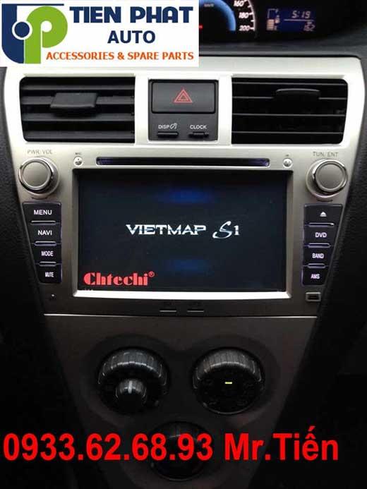 Lắp Màn Hình DVD Cao Cấp Xe Toyota Vios 1.8G Đời 2011 Tại Tp.Hcm
