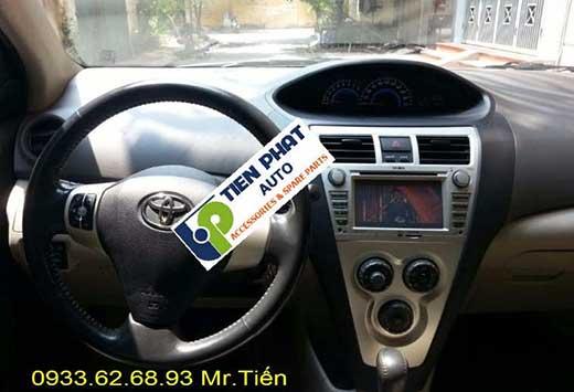 Lắp Màn Hình DVD Cao Cấp Xe Toyota Vios 1.8G Đời 2012 Tại Tp.Hcm