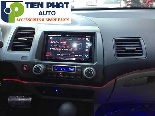 Lắp Màn Hinh DVD Zin Theo Xe Honda Civic Đời 2008-2012 Tại Hcm