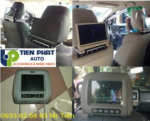 Lắp Màn Hình Gối Đầu Sau Ghế Cho Xe Honda CRV Tại Tp.Hcm