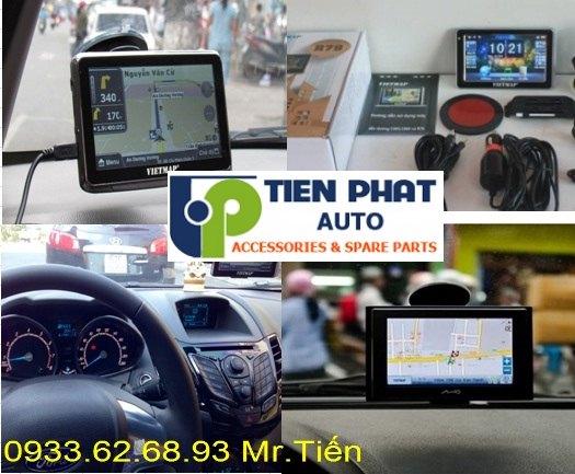 Lắp Thiết Bị Dẫn Đường (GPS) VietMap S1 Cho Xe Mitsubishi Pajero sport Tại Tp.Hcm