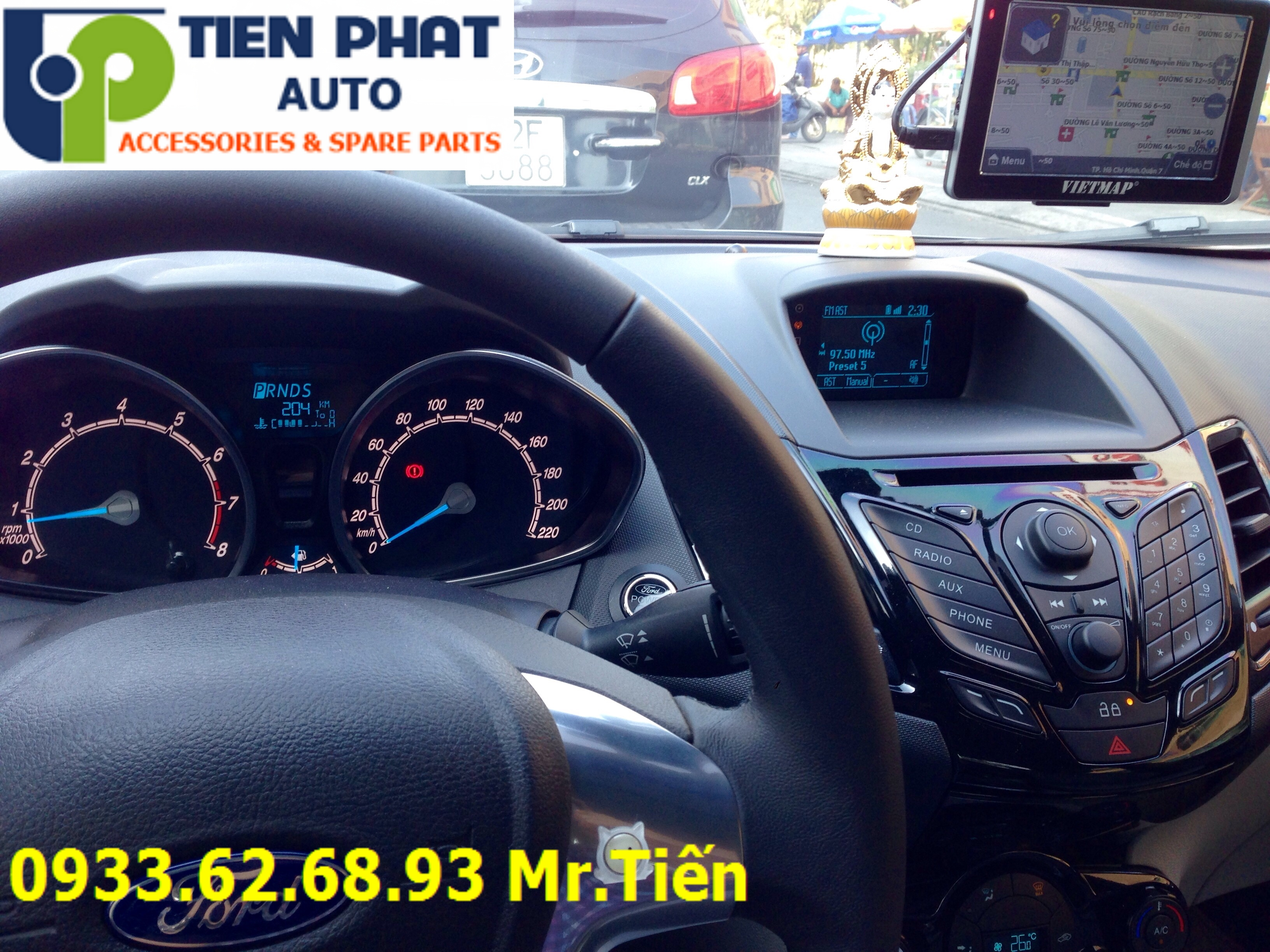 Lắp Thiết Bị Dẫn Đường (GPS) VietMap S1 Cho Xe Ô Tô Tại Nhà Bè Uy Tín Nhanh