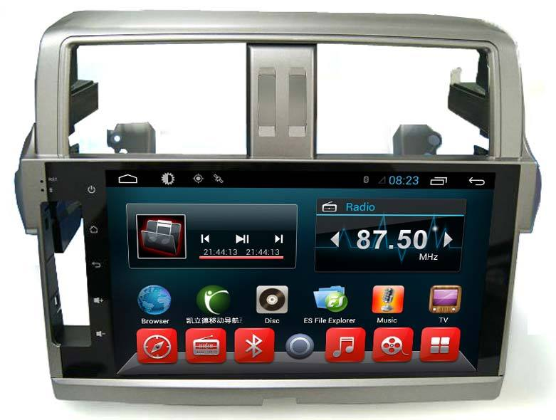 Màn Hình DVD winca s160 Chạy Android Cho Toyota Prado