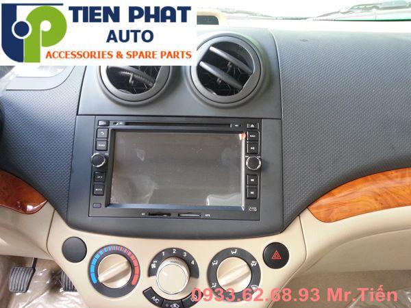 Màn Hình DVD Zin Theo Xe Cho Chevrolet Aveo Đời 2016 Tại Tp.Hcm