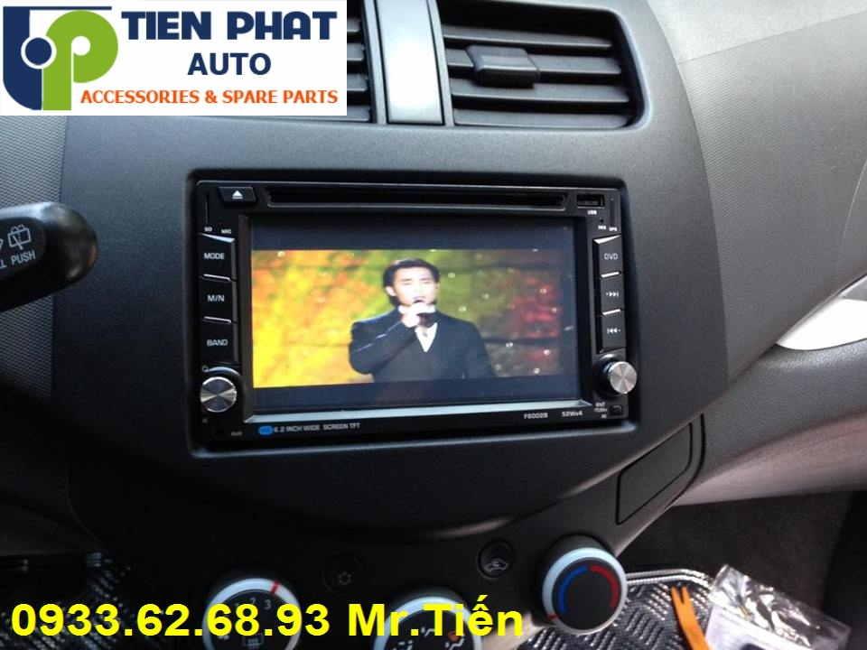 Màn Hình DVD Zin Theo Xe Cho Chevrolet Spark Đời 2010 Tại Tp.Hcm