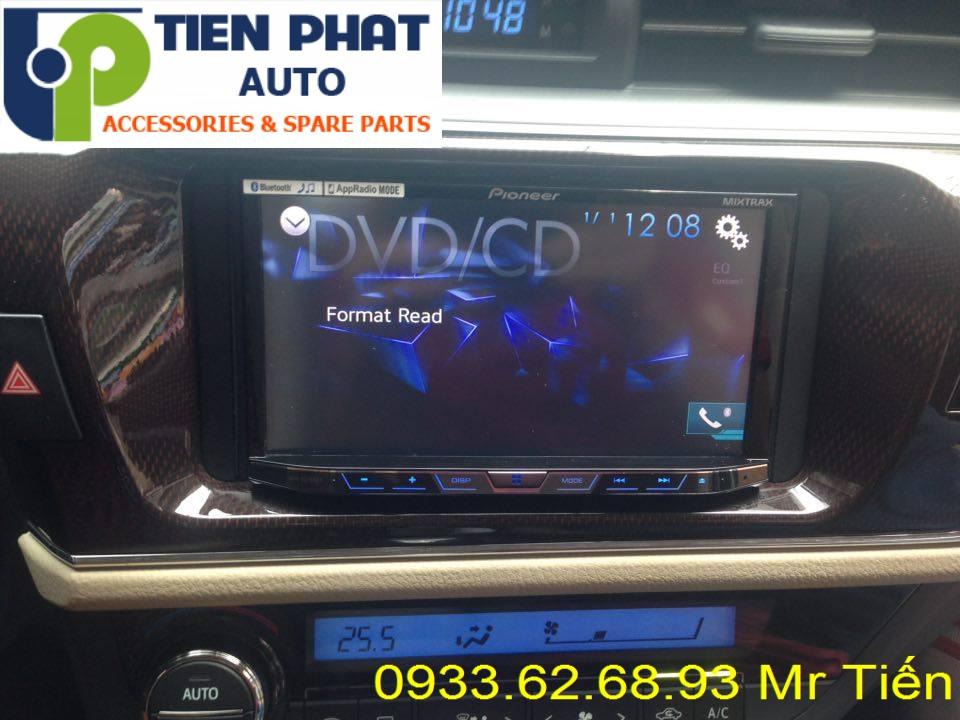 Sửa Chữa Màn Hình Cảm Ứng DVD,CD Ô Tô Cho Xe Toyota Altis Tại Tp.Hcm