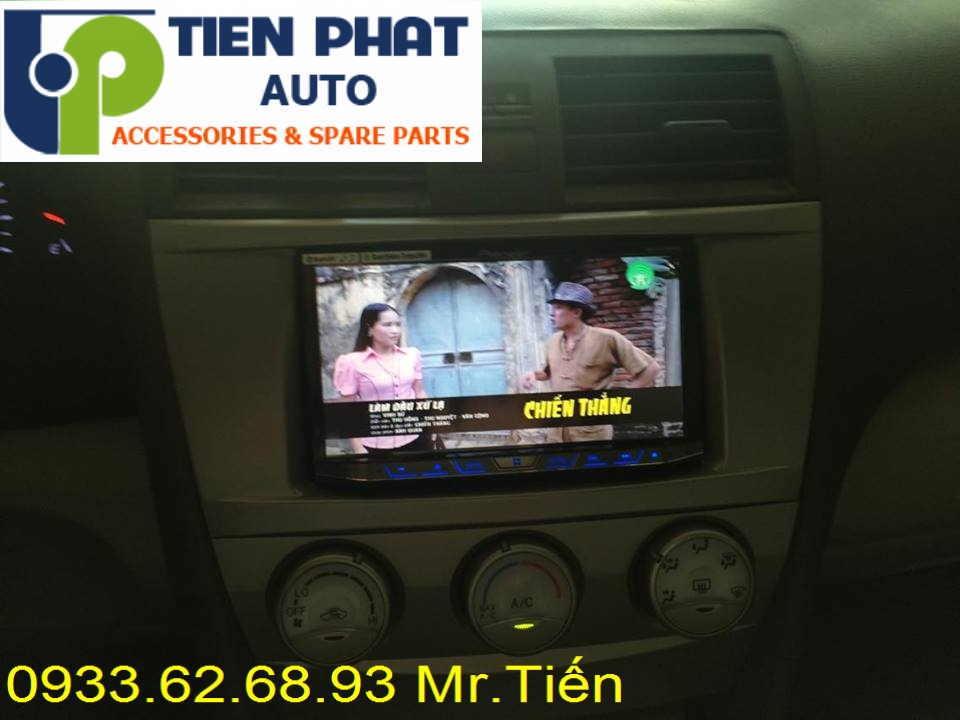 Sửa Chữa Màn Hình Cảm Ứng DVD,CD Ô Tô Cho Xe Toyota Camry Tại Tp.Hcm