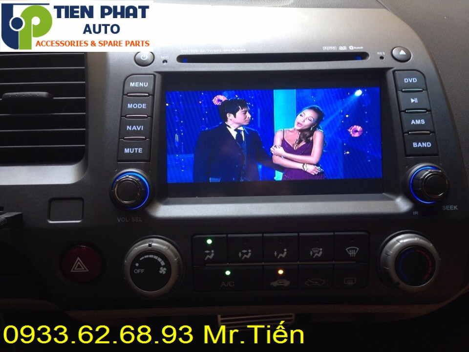 Sửa Chữa Màn Hình Cảm Ứng DVD ,CD Ô Tô Cho Xe Honda Civic Tại Tp.Hcm