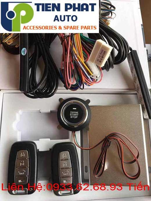 Lắp Đặt Engine Start Stop Smart Key Chìa Khóa Thông Minh Cho Xe Huyndai Acent Đời 2014 Tại Tp.Hcm
