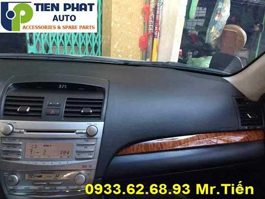 Bọc Lại Taplo Cho Toyota Camry 2.4G Đời 2008 Tại Tp.Hcm Uy Tín Nhanh
