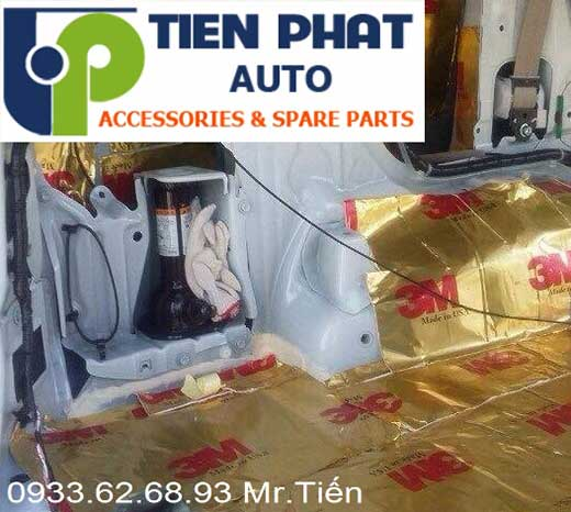 Dán Chống Ồn Cách Âm Cho Xe Mitsubishi Pajero Sport Tại Tp.Hcm