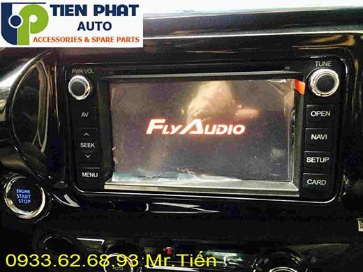 Dịch Vụ Gắn Màn Hình DVD Zin Theo xe Toyota Hilux Đời 2016 Tại Tp.Hcm