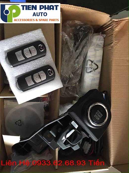 Độ Nút Engine Start Stop/Smart Key Chuyên Nghiệp Cho Mazda 3 Tại Tp.Hcm