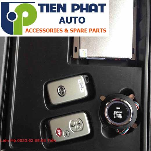 Độ Nút Engine Start Stop/Smart Key Chuyên Nghiệp Cho Toyota Camry Tại Tp.Hcm