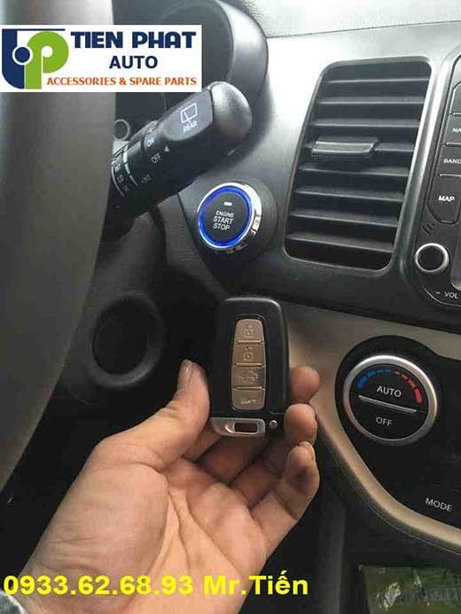 Engine Start Stop Smart Key Chìa Khóa Thông Minh Cho Kia Morning Đời 2016