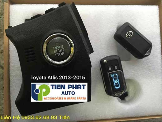 Engine Start Stop Smart Key Chìa Khóa Thông Minh Cho Toyota Altis Đời 2015 Tại Tp.Hcm