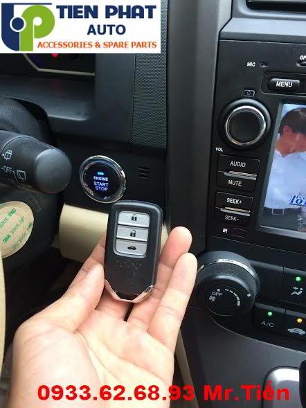 Engine Start Stop/Smart Key Chuyên Nghiệp Cho Honda CRV 2009-2013