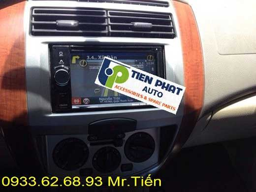 Gắn Đầu Máy DVD Cho Xe Nissan Livina Đời 2009 Tại Củ Chi Uy