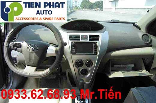 Gắn Màn Hình DVD Zin Theo Xe Toyota Vios 1.8G Đời 2008 Tại Tp.Hcm