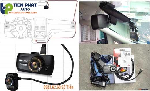 lắp Camera Hành Trình Cho Xe Toyota Sienna