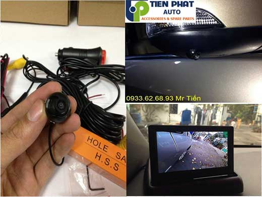 Lắp Camera Tiến Gương Bên Phụ Cho xe Mitsubishi Grandis