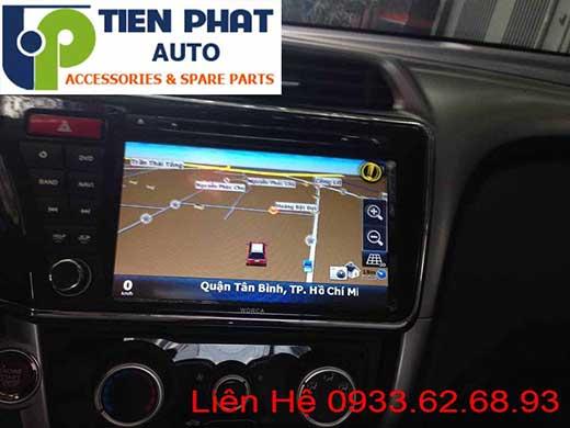 Lắp Đặt Đầu Máy DVD Nguyên Khối Theo Xe Honda City 2015 Tại Tp.Hcm